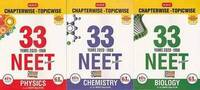 MTG 33 Years NEET-AIPMT Chapterwise Sol. Combo - Phy, Chem, Bio