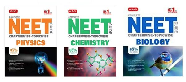 Mtg Complete Neet Guide Combo (Physics + Chemistry + Biology) Set Of 3 Books, 2021