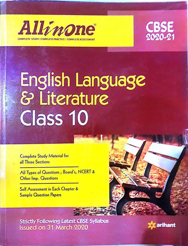 ARIHANT ALL IN ONE ENGLISH LANGUAGE & LITERATURE- 10
