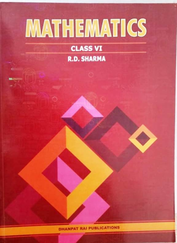 R.D. SHARMA MATHEMATICS CLASS-6