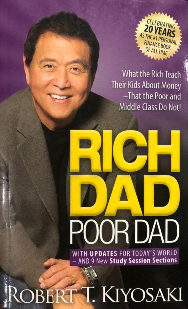 Rich dad poor dad Book by Robert Kiyosaki