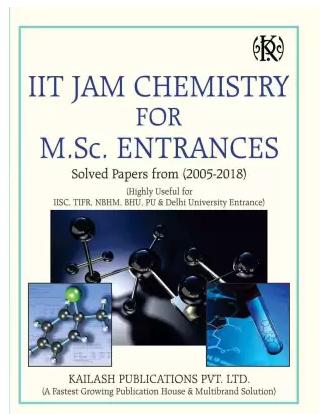 IIT JAM Chemistry For M.Sc. Entrances