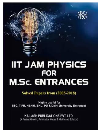 IIT JAM Physics for M.Sc. Entrances