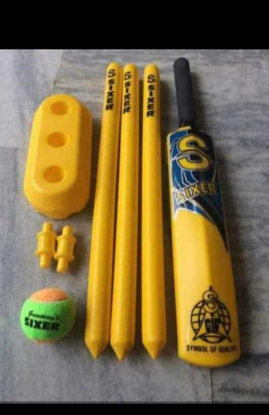 Sixer Plastic cricket Set No7