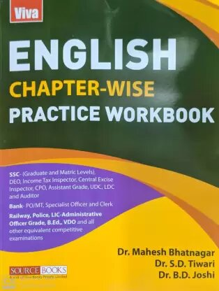english chapterwise practice work book1