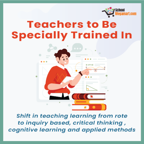 Shift in teaching learning from rote to inquiry based, critical thinking, cognitive learning and applied methods