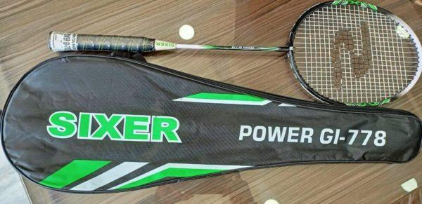 Sixer Badminton Racket GI power 778