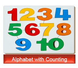 Alphabet with Counting toy