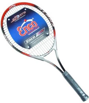 Enco ALPHA 2109 Red, White Strung Tennis Racquet