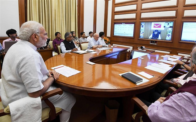 Prime Minister Reviews Projects in 35th PRAGATI Meeting