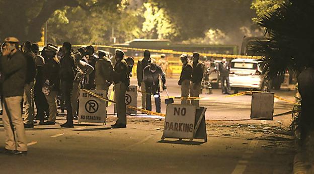 Blast Near Israel Embassy in New Delhi