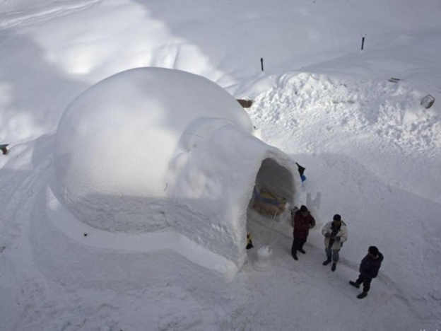 India's First Igloo Café Opened in Gulmarg