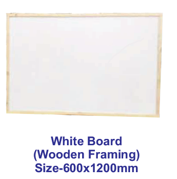 White Board (Wooden Framing)