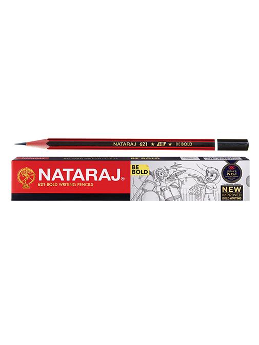 Nataraj 621 Bold Writing Pencils (Pack of 1)