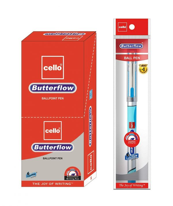 Cello Butterflow Simply Ball Pen (Pack of 1)