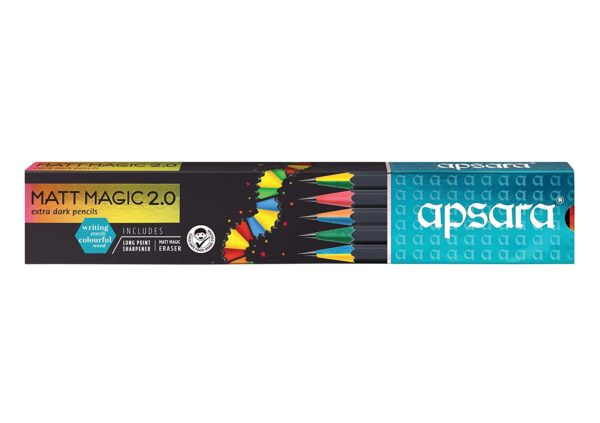 Apsara Matt Magic 2.0 pencils (Pack of 1)