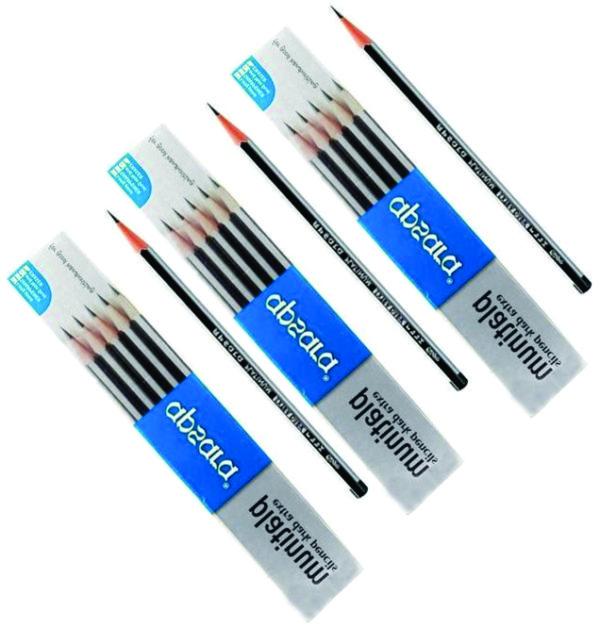 Apsara Platinum Extra Dark Pencils (Pack of 3)