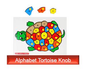 Alphabet-Tortoise-knob