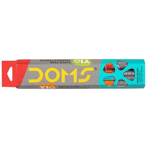 Doms Y1+ Super Dark Triangle Pencils
