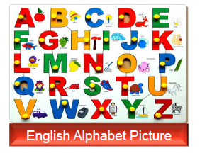 English Alphabet Pictures