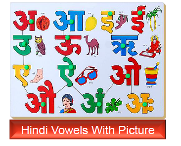 Hindi-Vowels-with-pictures