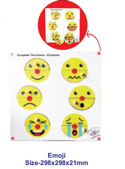 Complete The Halves- Emoji