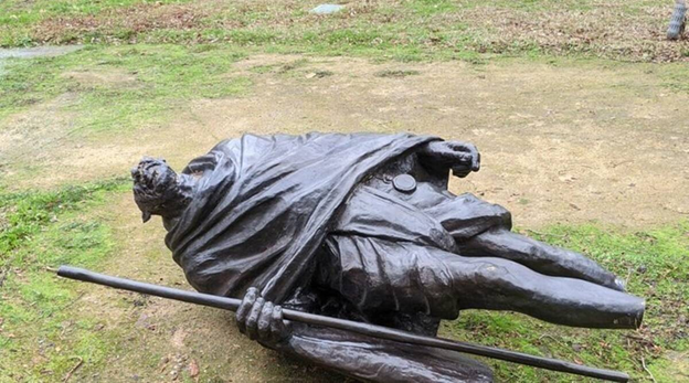 India Demands Appropriate Action Against Perpetrators as Statue of Mahatma Gandhi was Vandalized in US