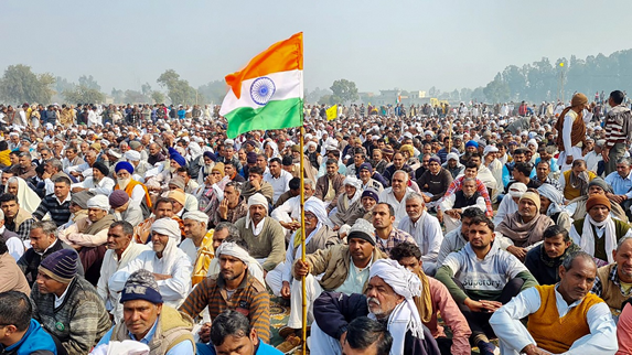 First Mahapanchayat in Punjab to be Held Today to Support Farmers Agitation