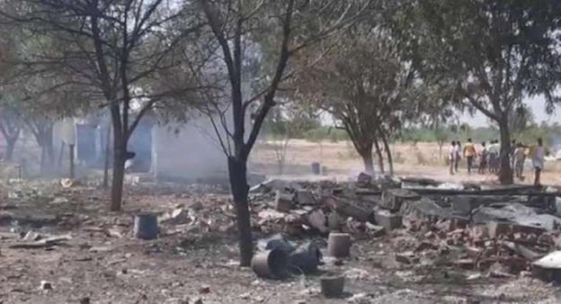 15 People Feared Dead in Explosion at Firecracker Factory in Tamil Nadu