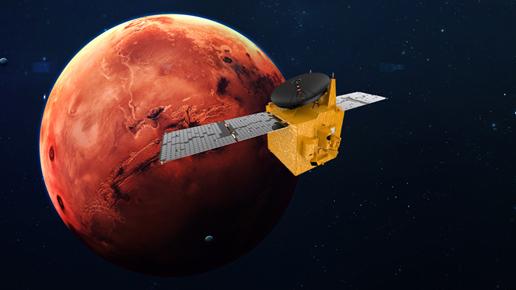 UAE's Mars Mission: Hope Probe Enters the Mars Orbit