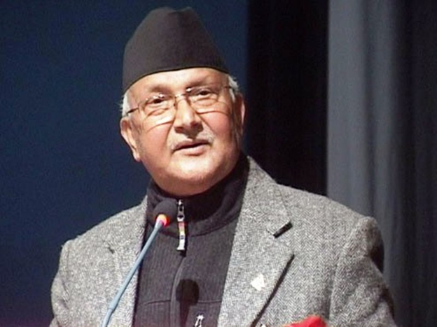 Oli Addressed Huge Rally and Defended the Dissolution of Parliament