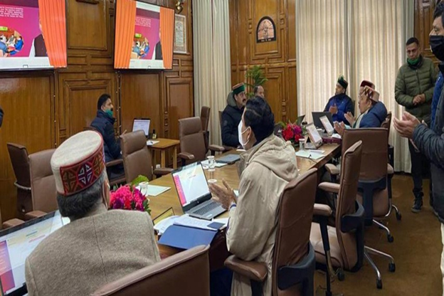 Himachal Pradesh Holds Country's First E-Cabinet Meeting