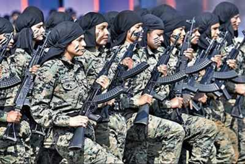 In a Historic Move, Women Team Inducted in CoBRA Commando Unit of CRPF