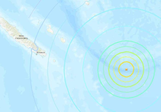 Earthquake of Magnitude 7.7 in South Pacific Causes Tsunami
