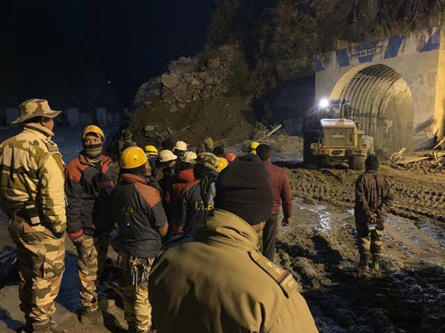Uttarakhand Glacier Disaster: Rescue Team Begins Drilling Operations Inside Tapovan Tunnel
