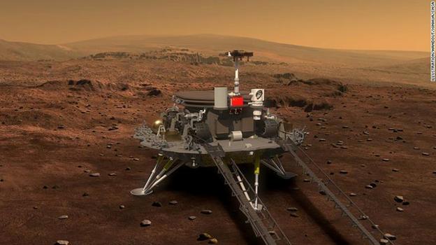 China Mars Mission: Tianwen-1 Probe Successfully Enters Mars Orbit