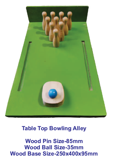 Table Top Bowling Alley