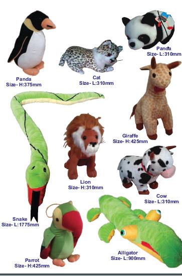 Zoo Animals (17 pieces)