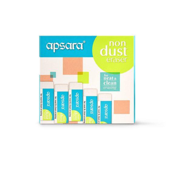 Apsara Non Dust Eraser (Pack of 1)