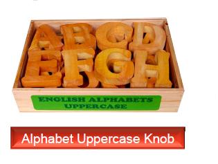 Alphabet Uppercase Knob