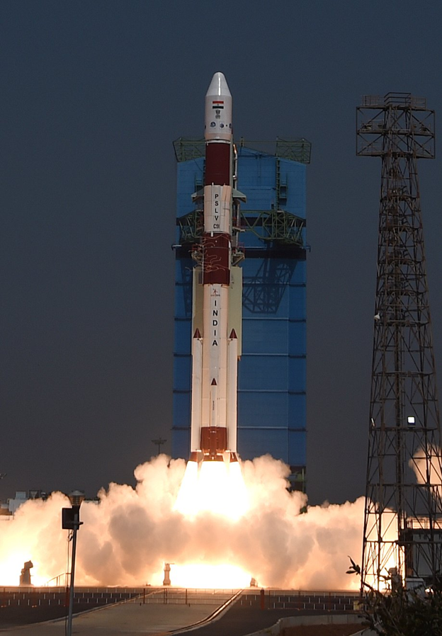 ISRO Successfully Launched PSLV C51 Carrying Amazonia-1 and 18 Other Satellites in First Space Venture of 2021