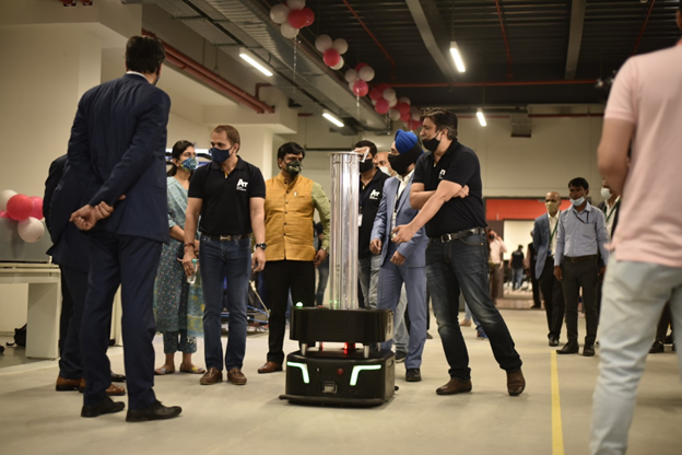 Bot-Valley: India's Largest Robot Manufacturing Unit Launched in India