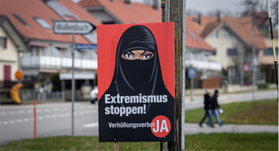 Switzerland Bans the Covering of Full Face in Public Places