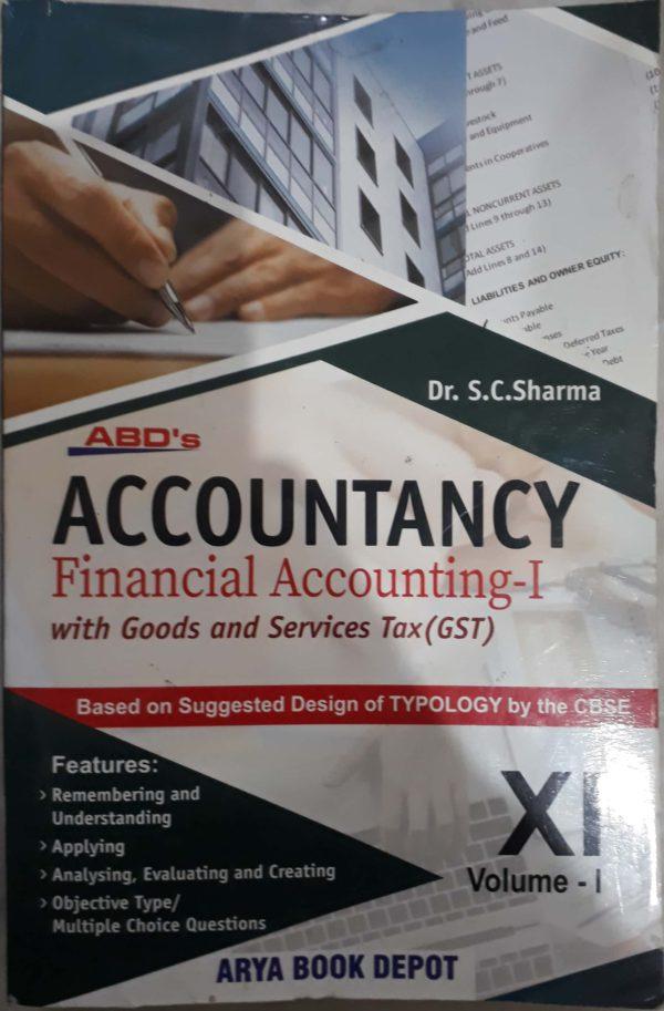 Accountancy financial accounting - 11 Vol -1