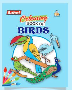 Colouring Book of Birds