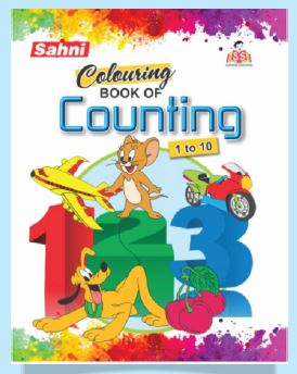 Colouring Book of Counting (1-10)