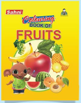 Colouring Book of Fruits