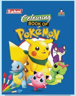 Colouring Book of Pokemon