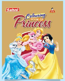 Colouring Book of Princess