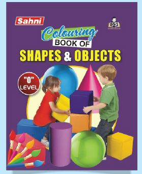 Colouring Book of Shapes and Objects